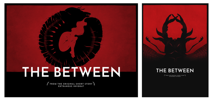 Postcard size lobby Cards of THE BETWEEN