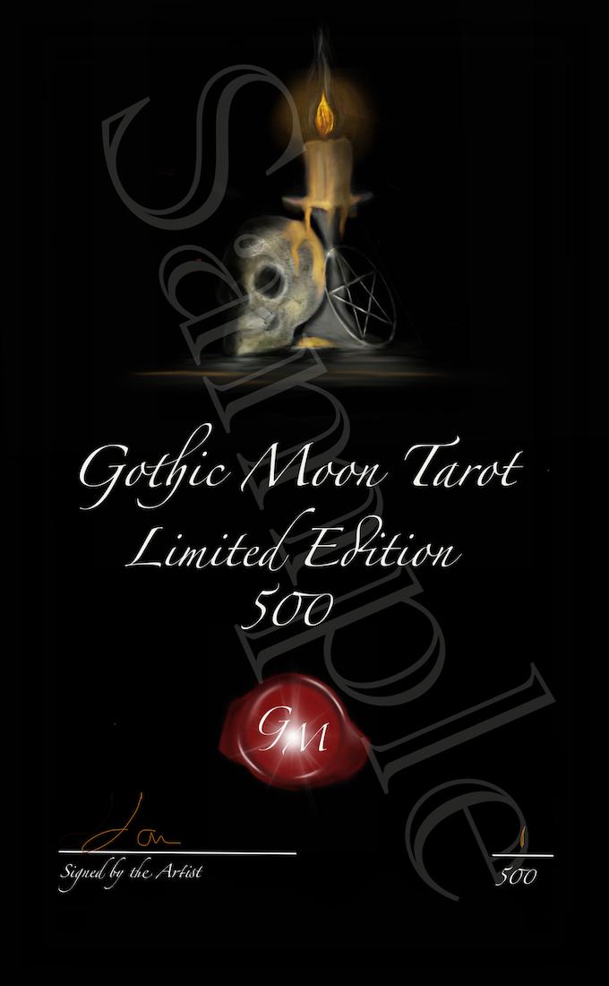 Gothic Moon Tarot by Gothic Art Studio — Kickstarter