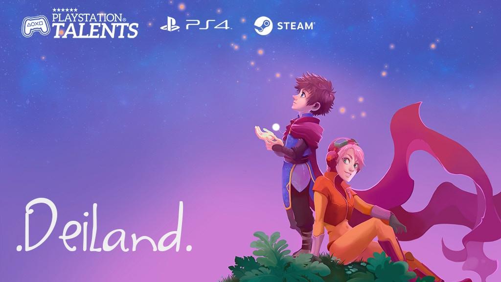 Deiland - RPG, adventure and sandbox game in a little planet miniatura de video del proyecto