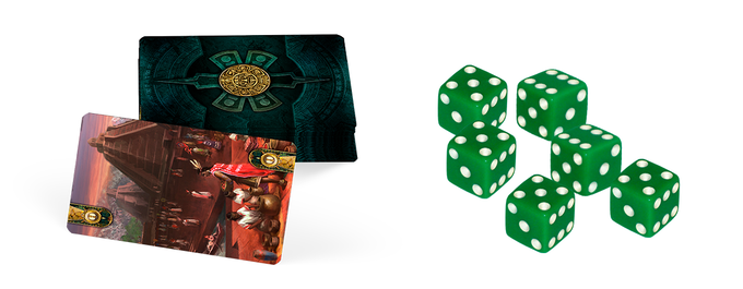 Cards or dice? It's up to you.