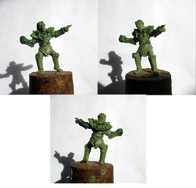 Kickstarter exclusive mini, sculpted by Byron Townshend
