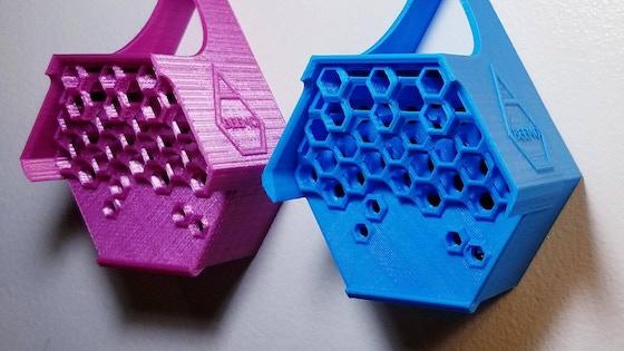 BEEMO - 3D-Printed Biodegradable Honeybee Motels