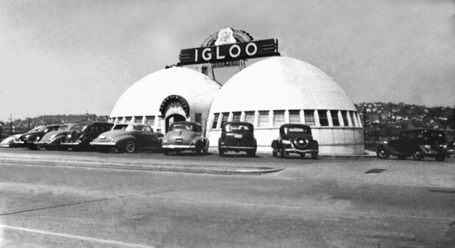 The Igloo in 1942, courtesy Paul Dorpat.