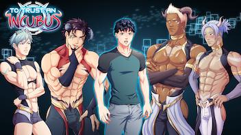 To Trust an Incubus Bara Yaoi BL Gay Dating Sim Visual Novel