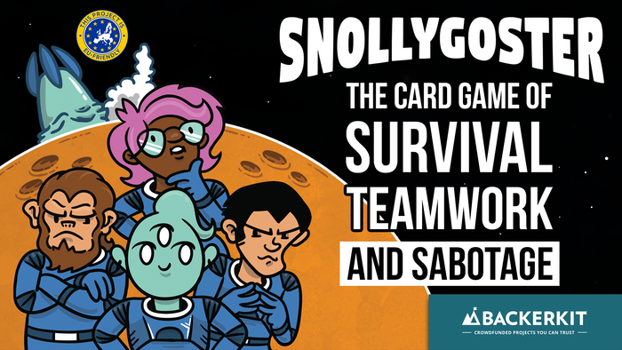 The card game of survival, teamwork, and sabotage.