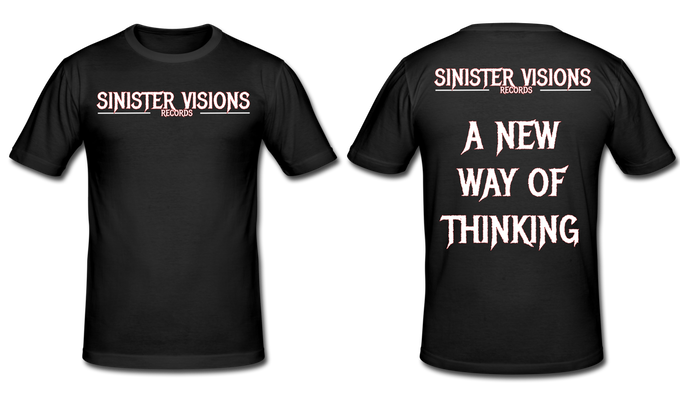 Sinister Visions Records T-Shirt