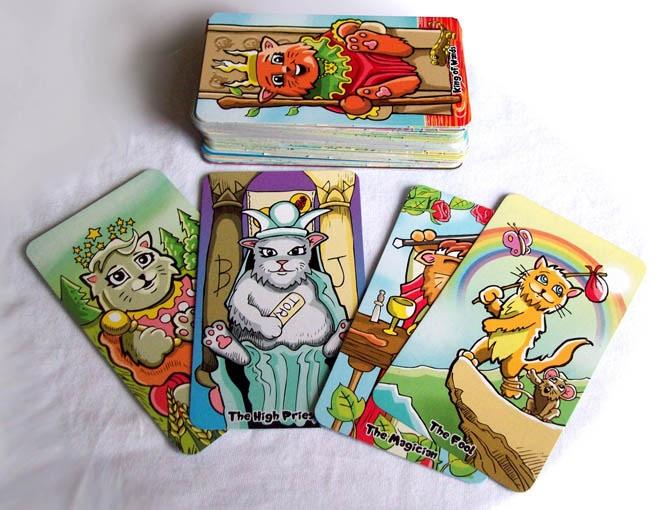 The Kiddy Katz Tarot deck