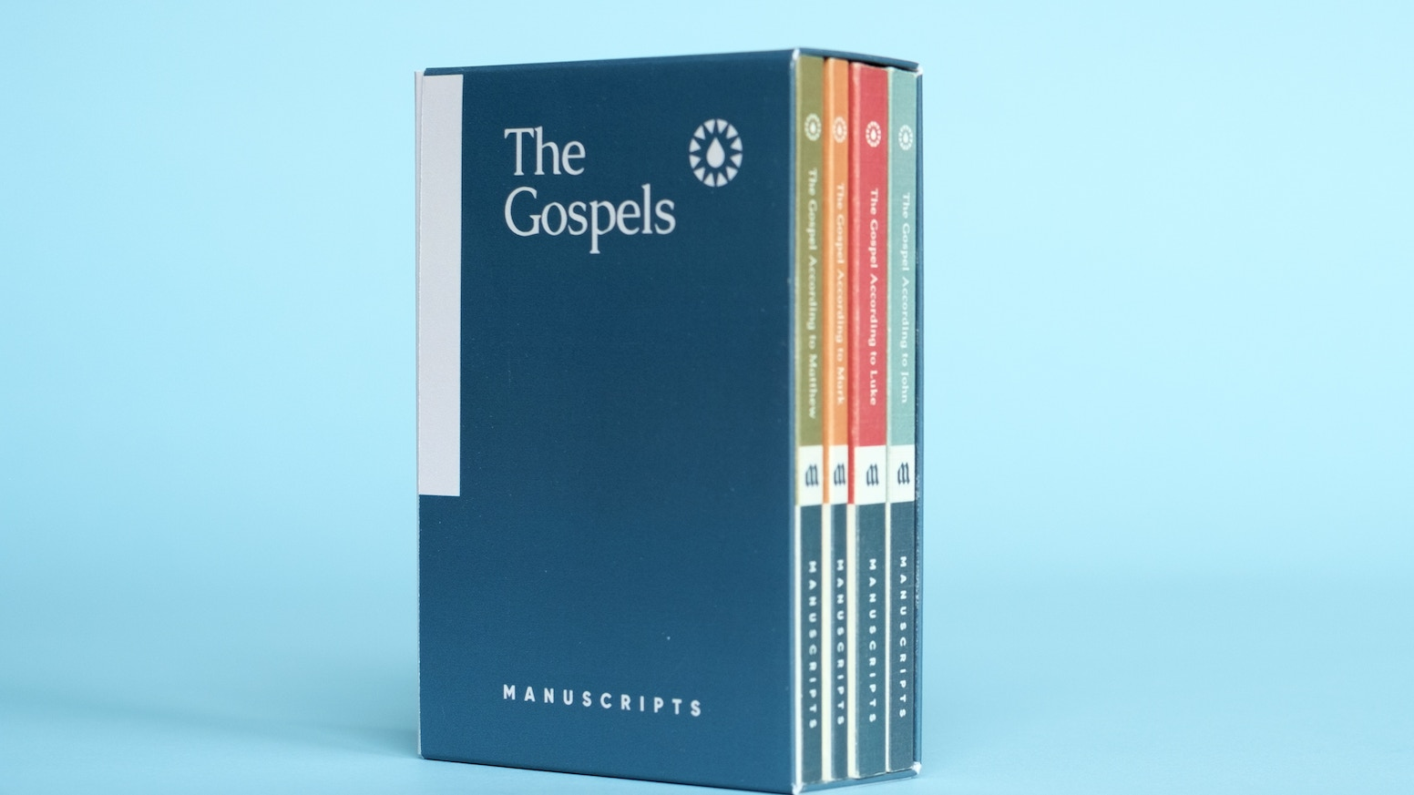 Beautiful, easy-to-read, and approachable. The four Gospels published in individual volumes for easy reading.