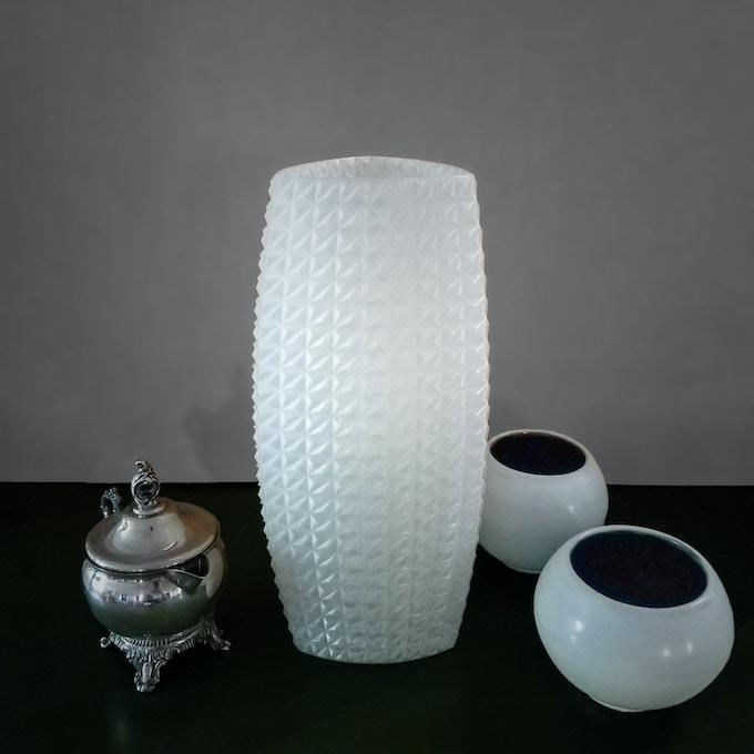 "The Tumbler, Medium lamp, (4.5"" wide x 4.5"" deep x 11.5"" tall)"