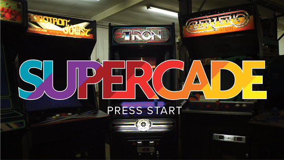 SUPERCADE: The Arcade of the Past, Present and Future