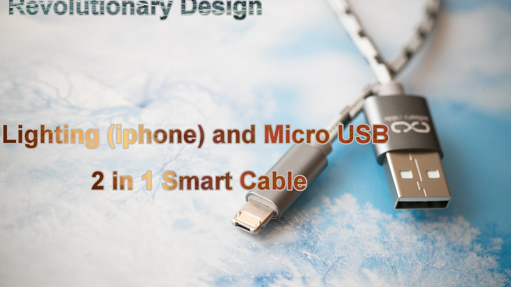 2 in 1 iphone and android / Lightning and micro cable project video thumbnail