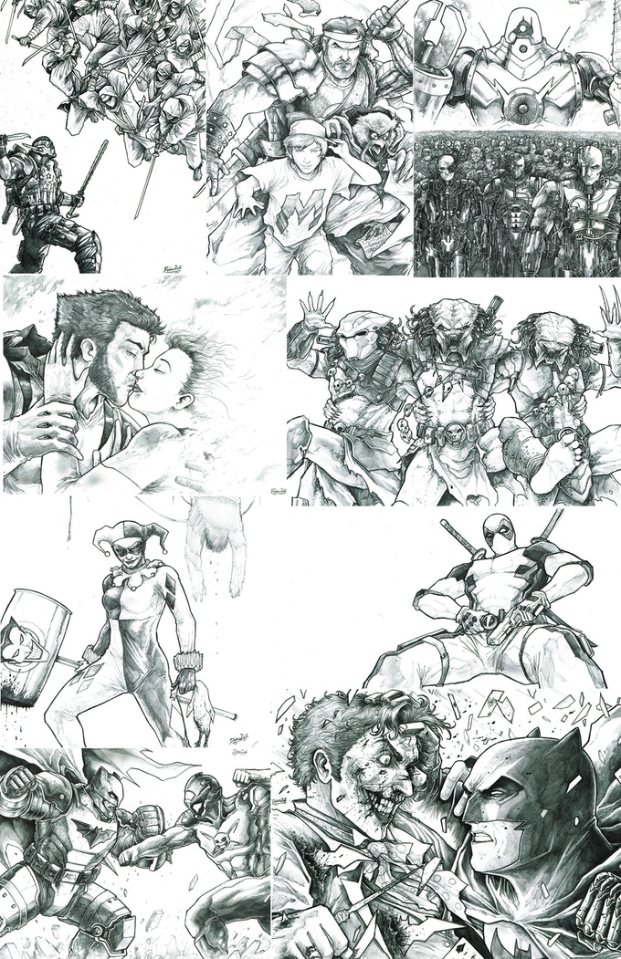 Zack's CUSTOM sketch examples!