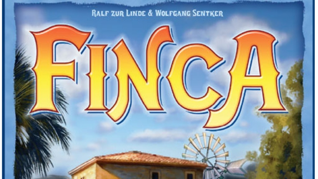 FINCA - board game with fruits project video thumbnail