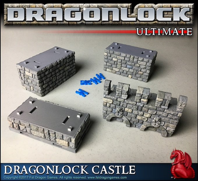 Help spread the word about this campaign and make your free Dragonlock Castle even bigger!