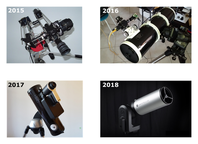 Evolution of the eVscope