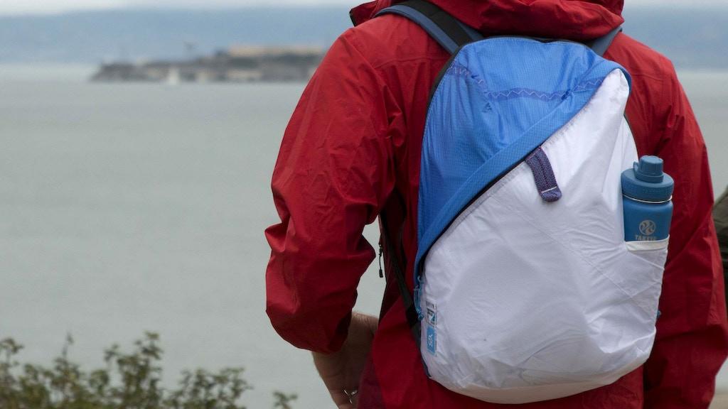 Deep Blue Bag – An Ocean Friendly Urban Adventure Pack project video thumbnail