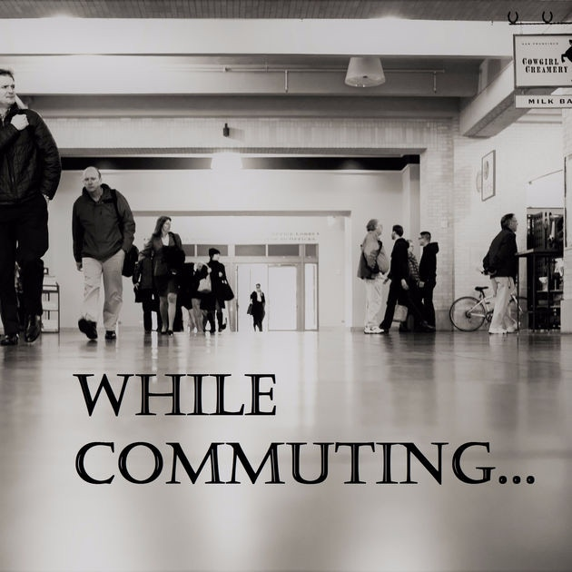 While Commuting is a weekly podcast sponsored by Apple Podcasts that features short stories.