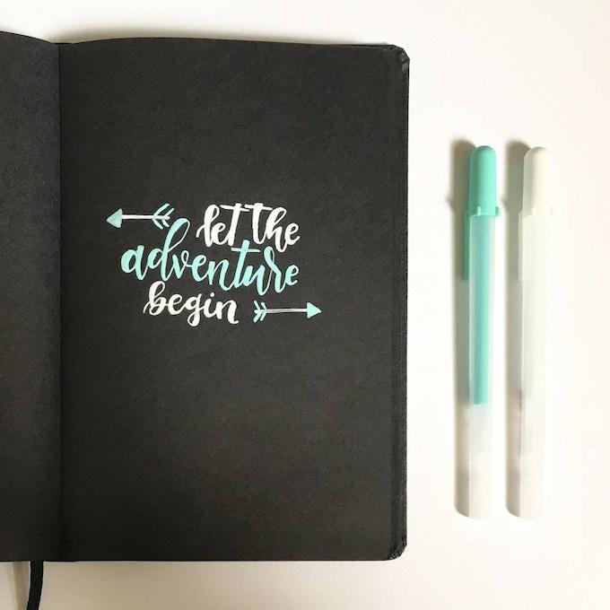 Gel Pen Designs