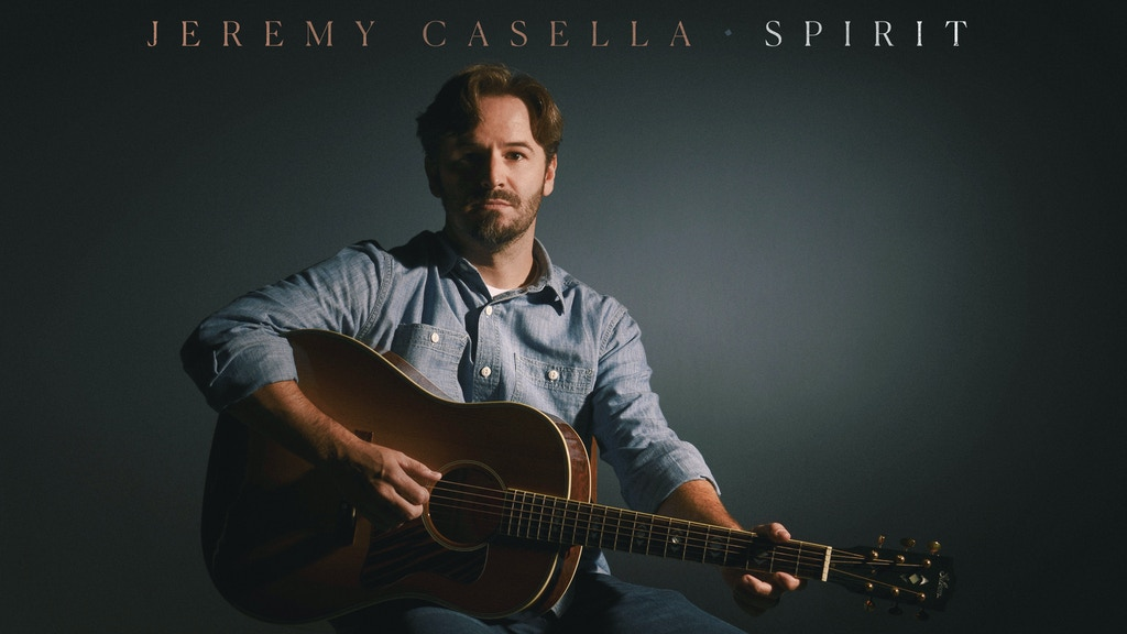 Spirit - a new studio album by Jeremy Casella project video thumbnail