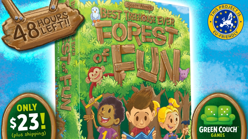 Best Treehouse Ever: Forest of Fun by Scott Almes. project video thumbnail