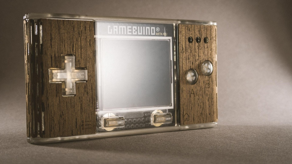 Gamebuino META project video thumbnail