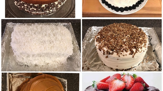 My Goal is to make you the cake and sweets from days past!
