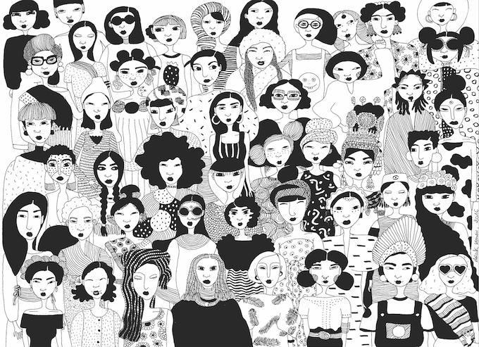 Illustration for Ché Hair Co