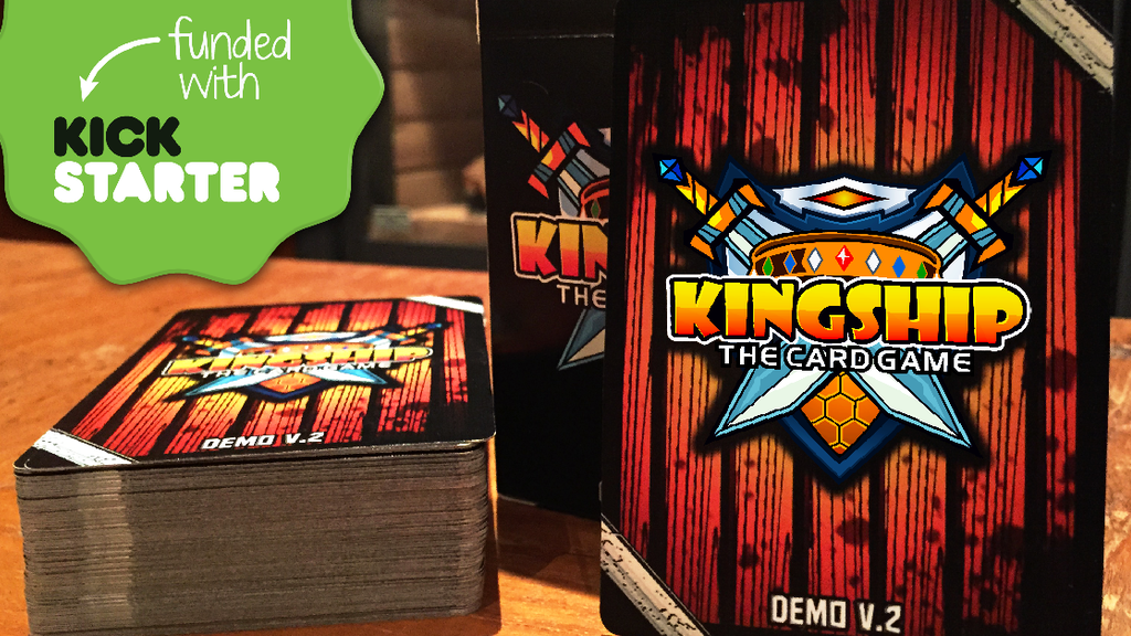 Kingship - The Card Game project video thumbnail