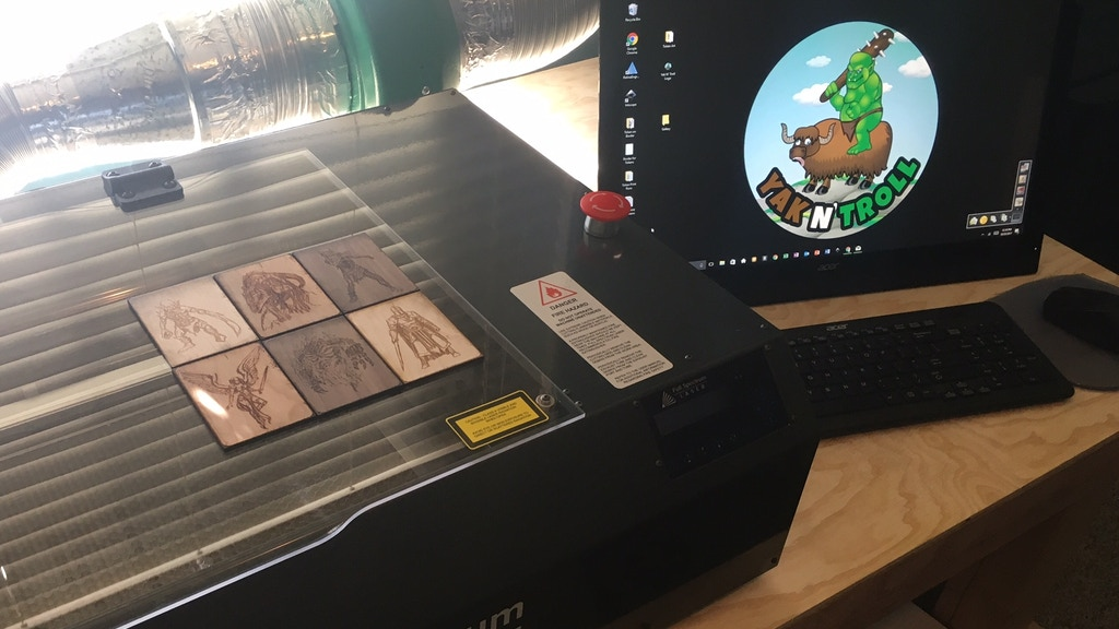 Project image for Magic: the Gathering Laser-Engraved Wooden Tokens