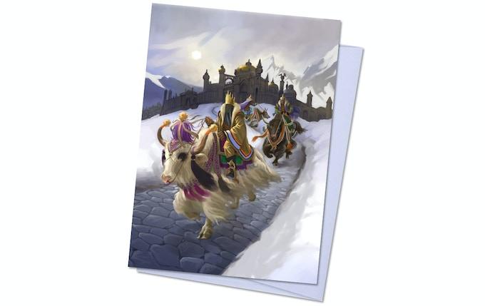 Dreamlands Pack 1, Card 2 - Yak Riders of Inganok