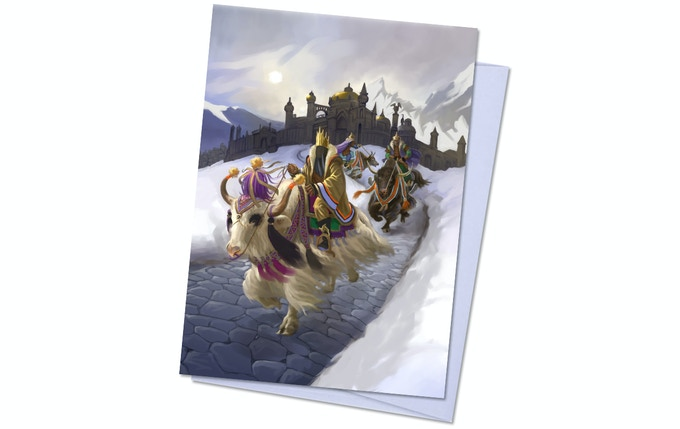Dreamlands Pack 1, Card 2 - Yak Riders of Inganok