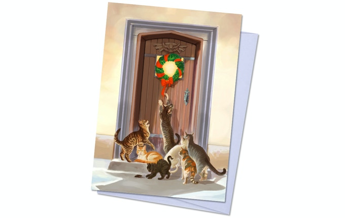 Dreamlands Pack 2, Card 5 - Ulthar Cats Want In