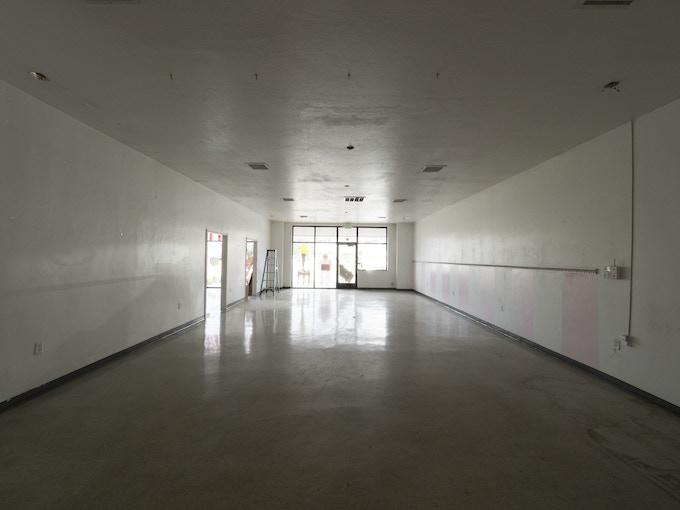 Luminaria, before installing studio, at 14 East 800 South, Salt Lake City, Utah