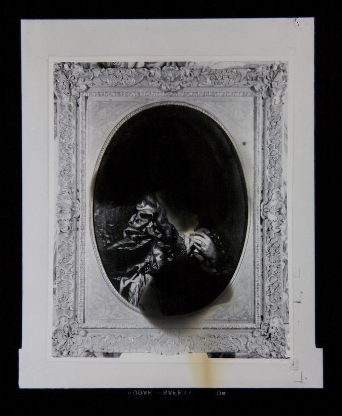 Chromoskedasic Sabattier print by Christine Baczek