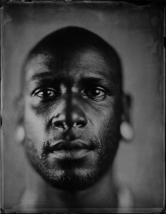 Luminaria Portrait: Visit Us for a Wet Plate Portrait Experience (4x5 ad 6x8 options)