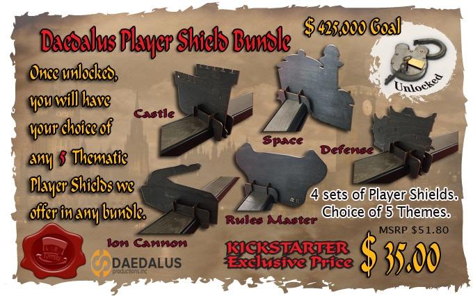 Yay, the Daedalus bundle is unlocked!!!
