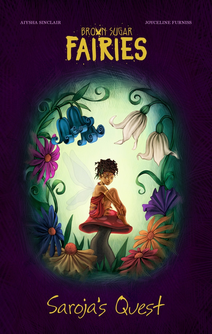 The cover to Saroja's Quest