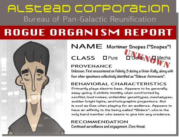 unknown organism report