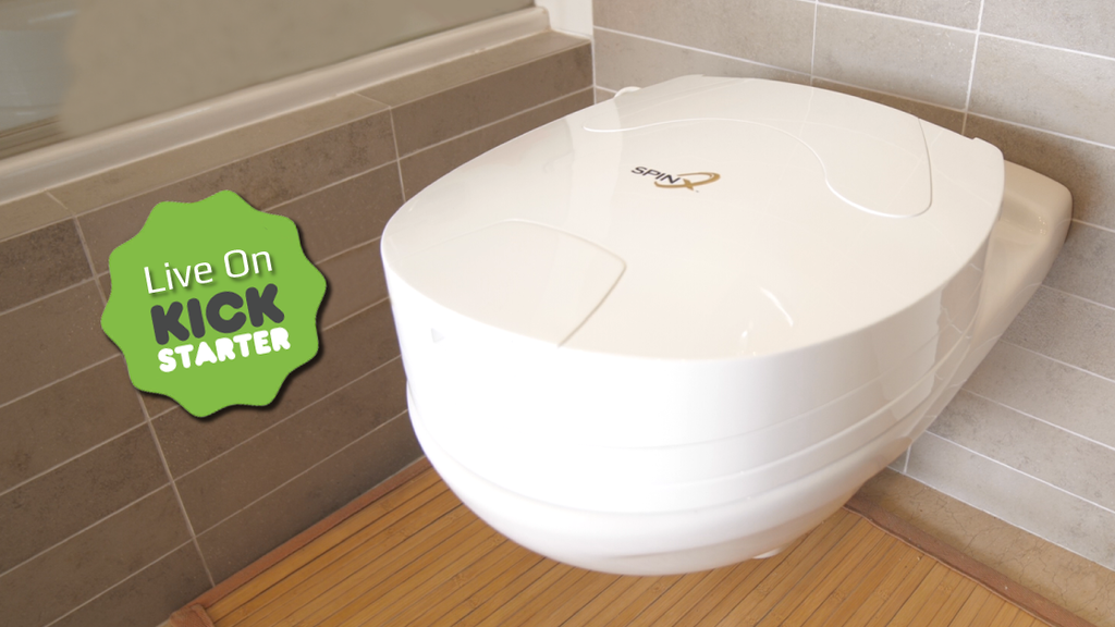 SPINX - World's First Toilet Cleaning Robot project video thumbnail