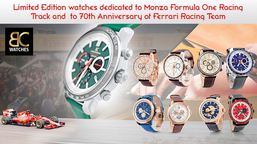 Luxury Watches Inspired by Formula 1 Race World