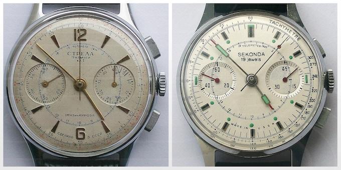The old serviced Strela & Sekonda