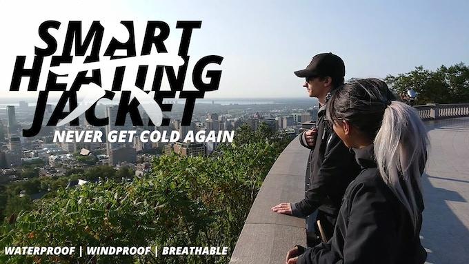 Kinesix: The World's First Customizable Smart Heating Jacket