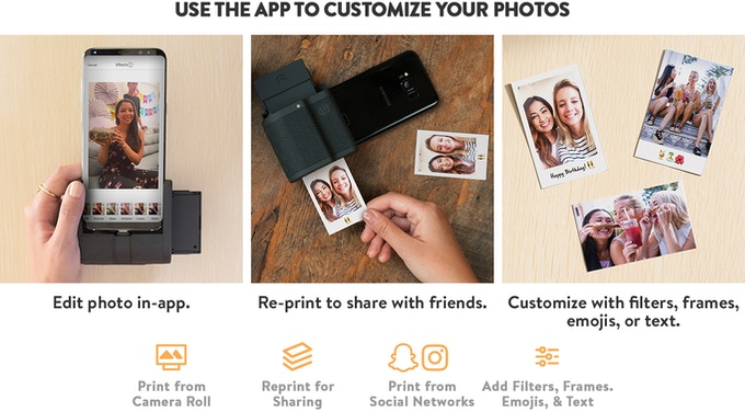 the latest 0f6e4 00fb2 Prynt for Android: Turn your phone into an Instant Camera by Prynt ...