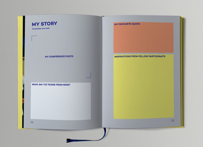 Special pages to personalise your copy.