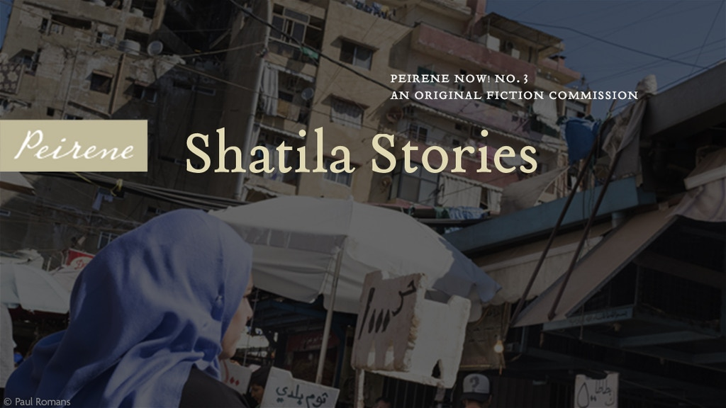 Peirene Now! No. 3: Shatila Stories project video thumbnail