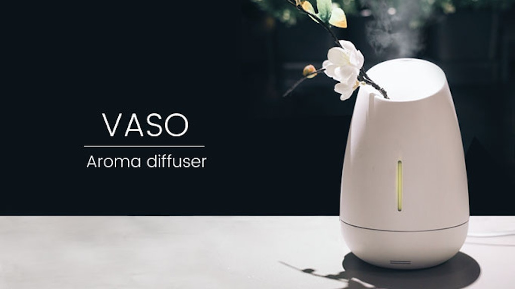 VASO to relax: Aroma Diffuser +Smart wake up &Natural sounds