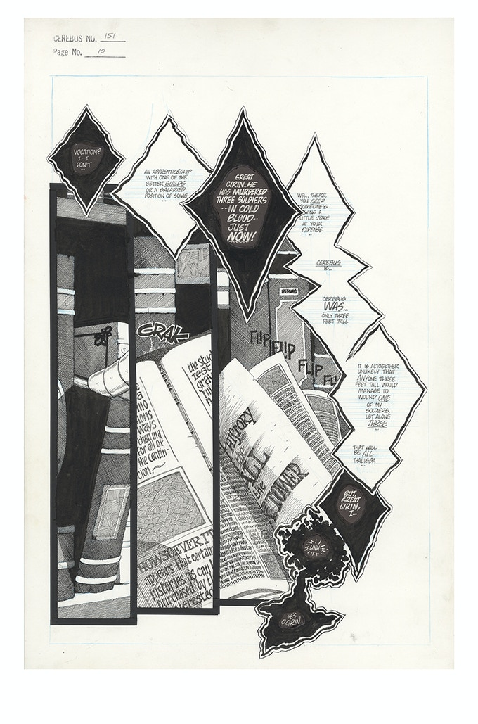 CAN7 - CEREBUS ARCHIVE NUMBER SEVEN by Dave Sim — Kickstarter