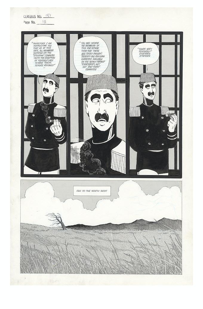 Cerebus No. 151 - Page 18