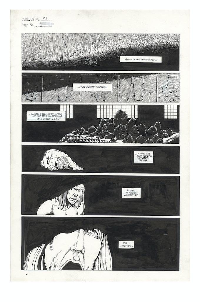 Cerebus No. 151 - Page 19