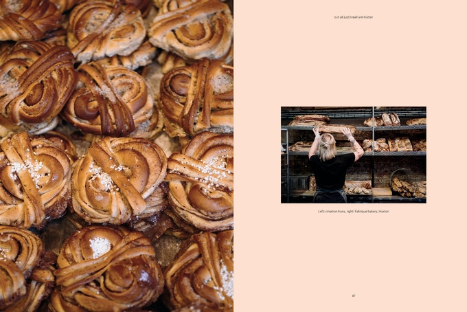 Fabrique Bakery spread from Pasture Issue 0